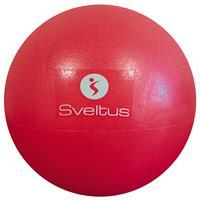 Médecine Ball - Gym Ball Ballon pédagogique rouge 26cm Sveltus - Fitnessboutique