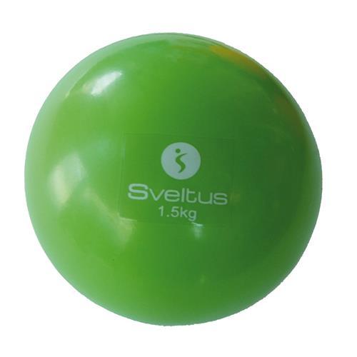 Médecine Ball - Gym Ball Sveltus Balle lestée 1,5 kg