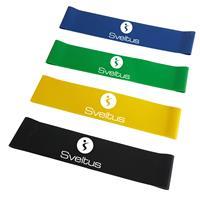 elastique-bande-resistance Bande latex light assorties en boîte Sveltus - Fitnessboutique