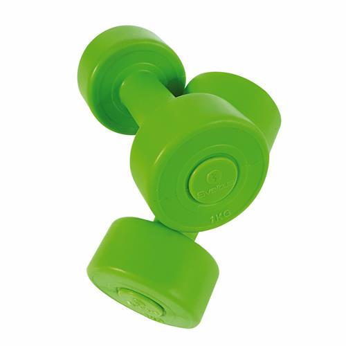 Accessoires Fitness Haltères Vinyle