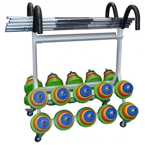 Support de rangement Rack Fit US Sveltus - Fitnessboutique