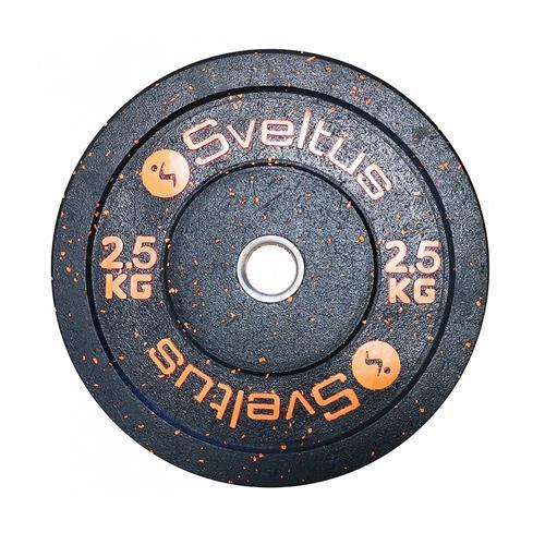 Disque Olympique - Diamètre 51mm Sveltus Disque olympique bumper 2.5 kg