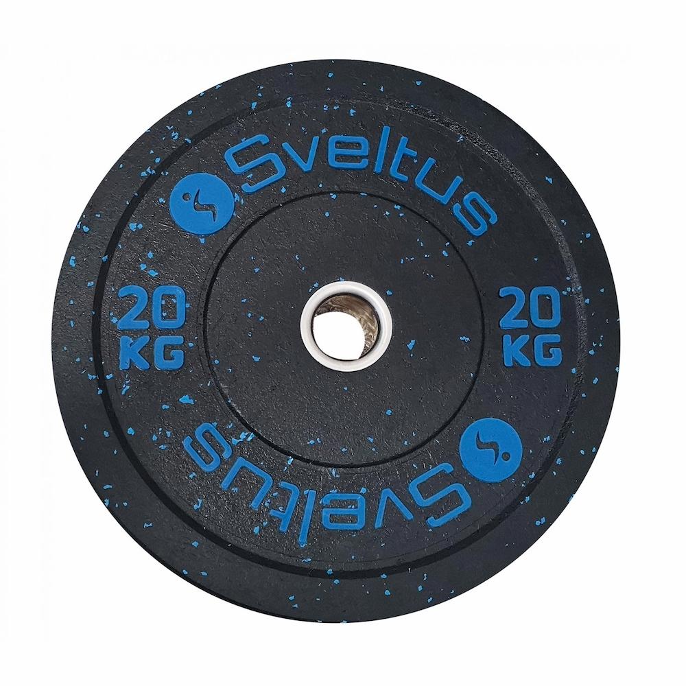 Sveltus Disque olympique bumper 20 kg