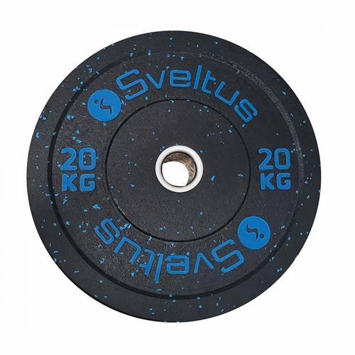 Disque Olympique - Diamètre 51mm Sveltus Disque olympique bumper 20 kg