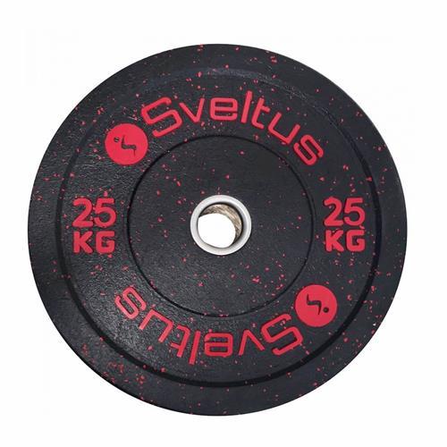 Disque Olympique - Diamètre 51mm Sveltus Disque olympique bumper 25 kg