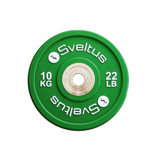 Disque Olympique - Diamètre 51mm Sveltus Disque olympique compétition - 10 kg