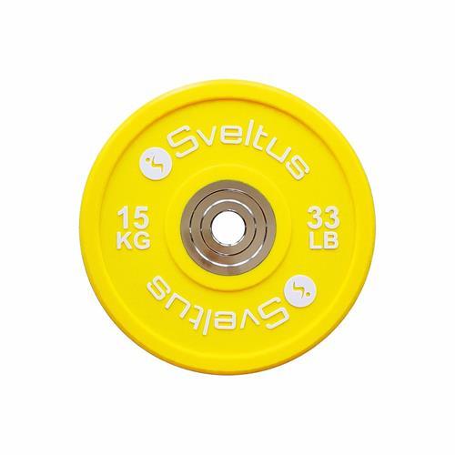 Disque Olympique - Diamètre 51mm Sveltus Disque olympique compétition - 15 kg