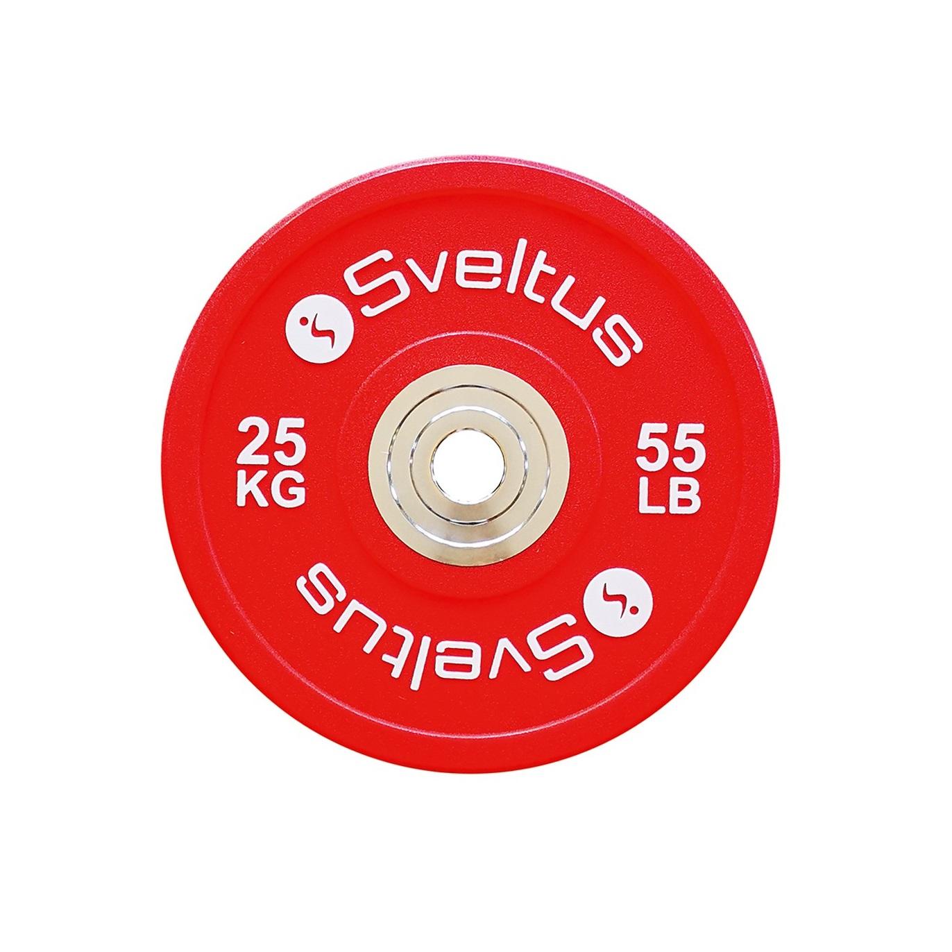 Sveltus Disque olympique compétition - 25 kg