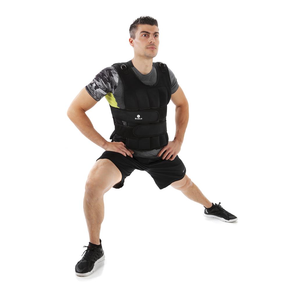 Détails Sveltus Gilet Lesté Homme 10 kg Noir