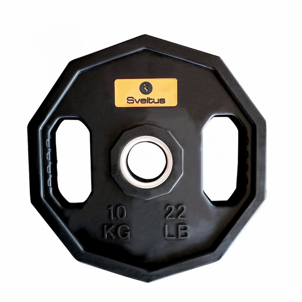 Sveltus Paire de disques olympique starting 10 kg