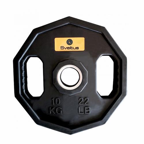 Disque Olympique - Diamètre 51mm Sveltus Paire de disques olympique starting 10 kg