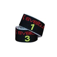 elastique-bande-resistance Sveltus Elastiband 15 kg noir en boîte avec poster