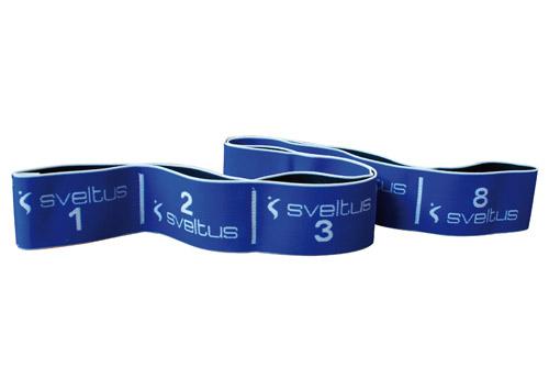 Sveltus Elastiband 20 kg Bleu en boîte avec poster