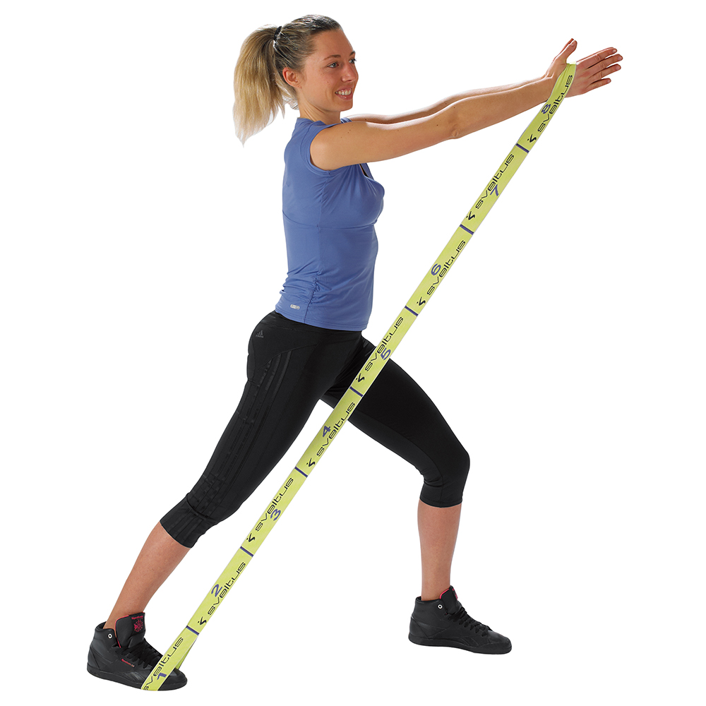 Elastique - Rubber - Sveltus Elastiband 10 kg / 10 kg / 10