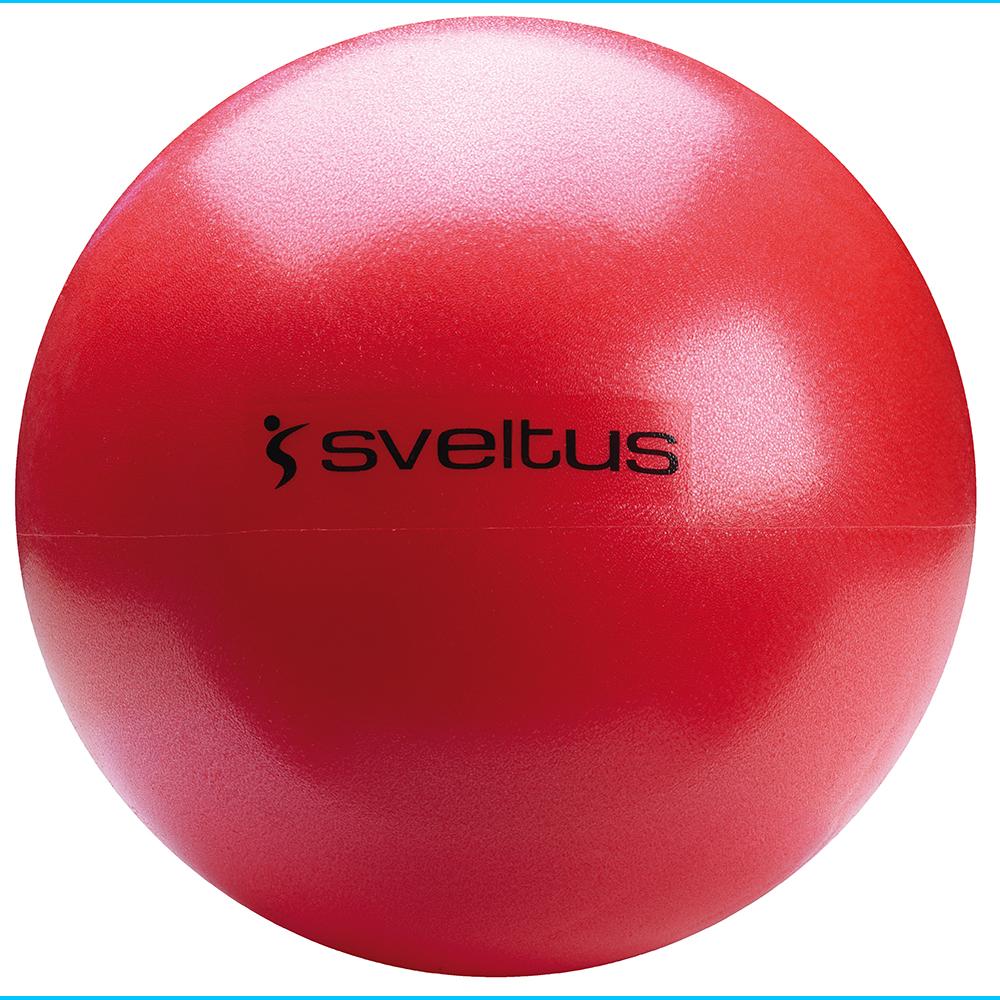 Médecine Ball et Balle lestée SVELTUS Ballon pédagogique rouge 26cm
