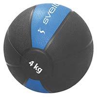 Médecine Ball et Balle lestée SVELTUS Medecine Ball 4 Kg
