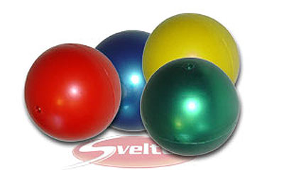 Médecine Ball et Balle lestée Sveltus Balle de manipulation (lot de 4)
