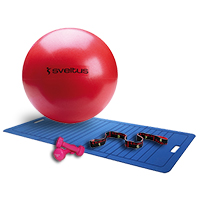 Médecine Ball - Gym Ball Sveltus Pack Easy Fitness