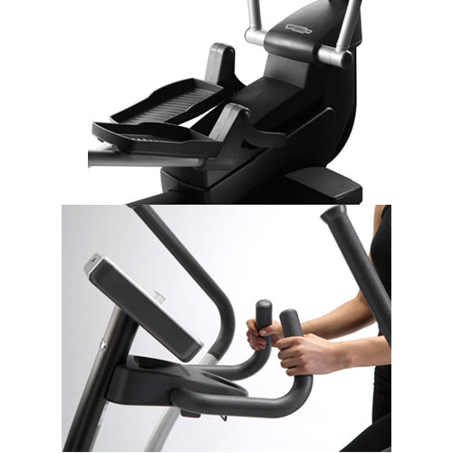v lo elliptique technogym synchro forma training link noir. Black Bedroom Furniture Sets. Home Design Ideas