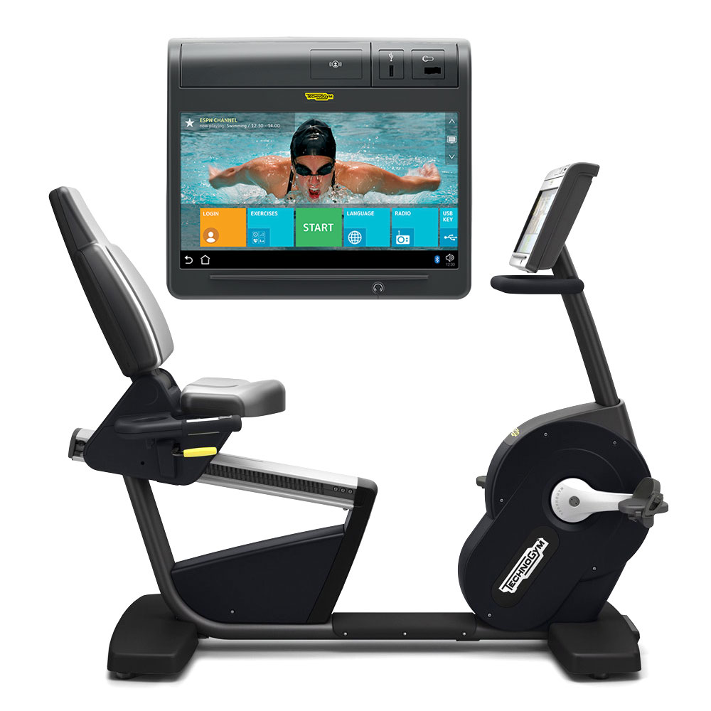 Technogym RECLINE TV