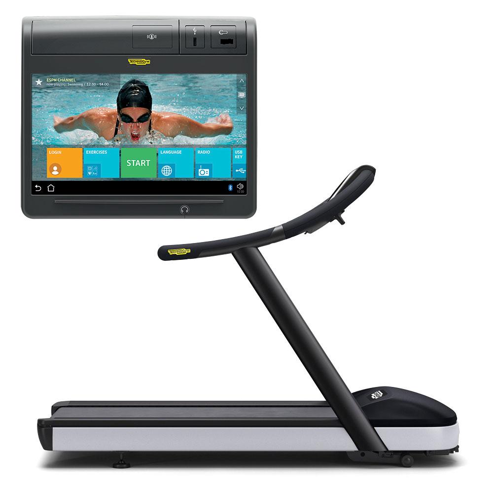 Tapis De Course Run 600 Tv Technogym Indisponible Fitnessboutique