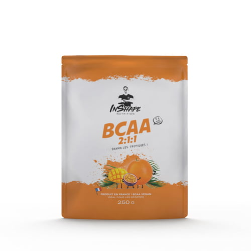 Acides aminés InShape Nutrition BCAA 2:1:1