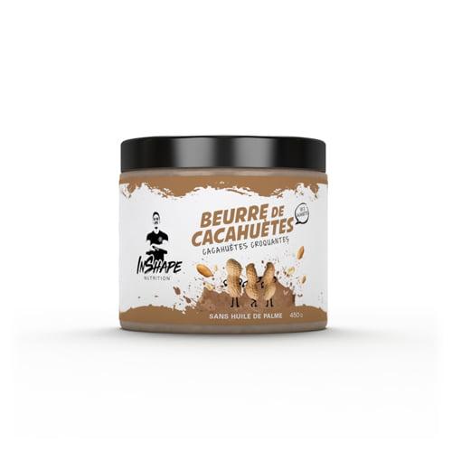 Beurre de Cacahuètes InShape Nutrition Beurre de cacahuètes Crunchy / Pâte à tartiner
