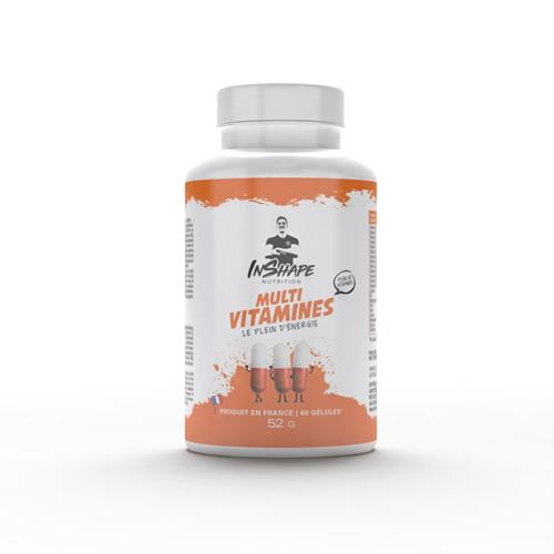 Vitamines et Minéraux InShape Nutrition Multi vitamines