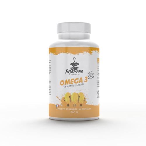 Sèche - Définition InShape Nutrition Omega 3