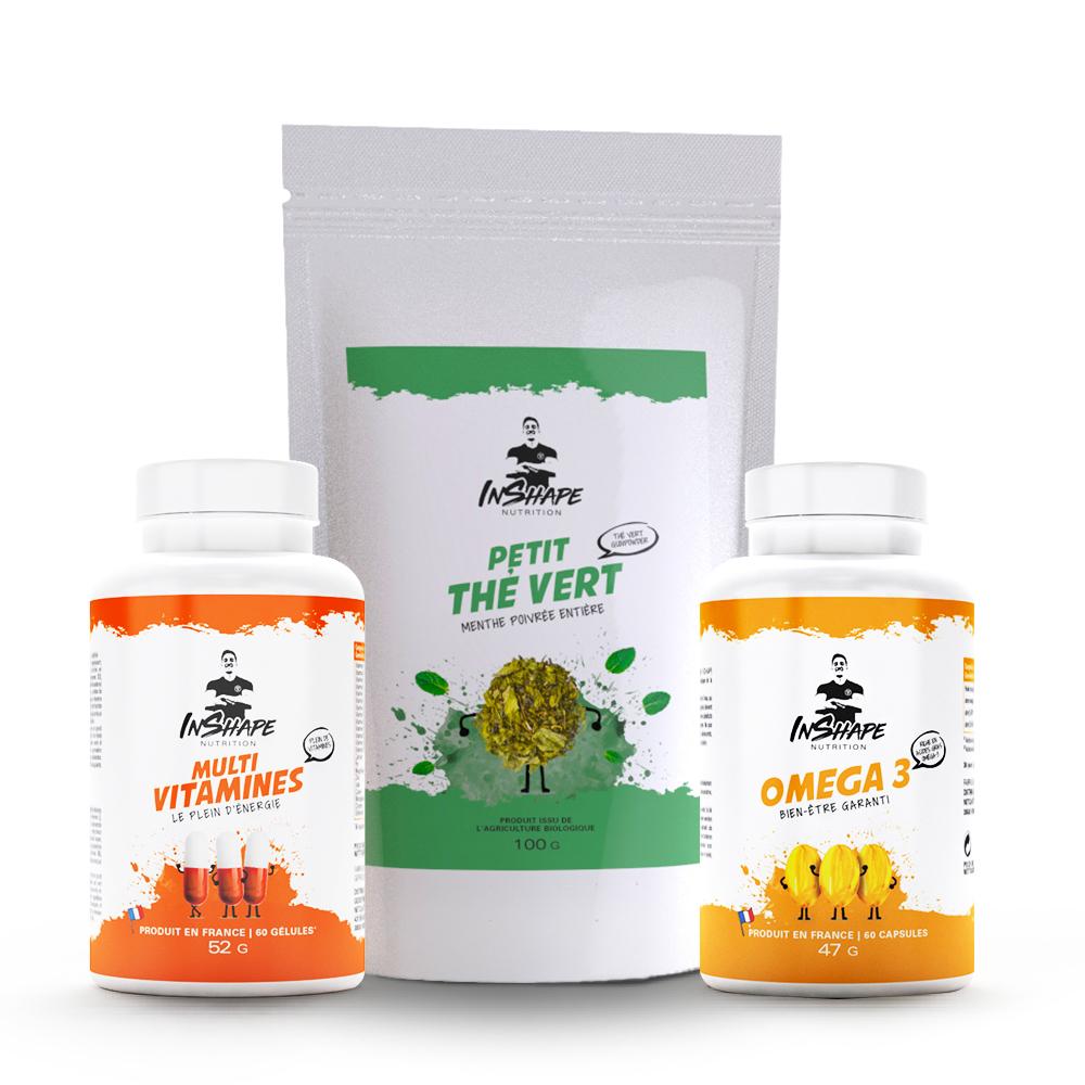 InShape Nutrition Pack Energie et Bien-être
