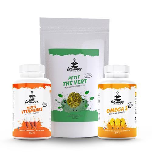 Santé et Bien-Être InShape Nutrition Pack Energie et Bien-être
