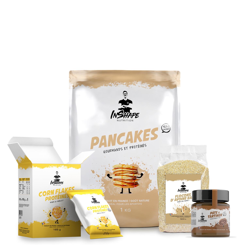 InShape Nutrition Pack Petit-Déjeuner Sportif et Gourmand