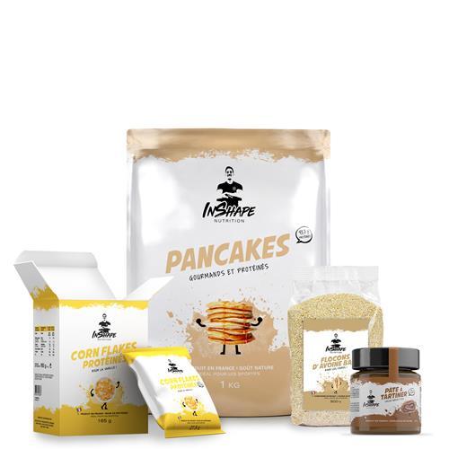 Pancakes InShape Nutrition Pack Petit-Déjeuner Sportif et Gourmand