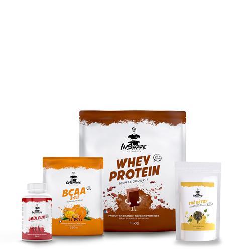 Whey Protéine InShape Nutrition Pack Perte de Poids et Sèche