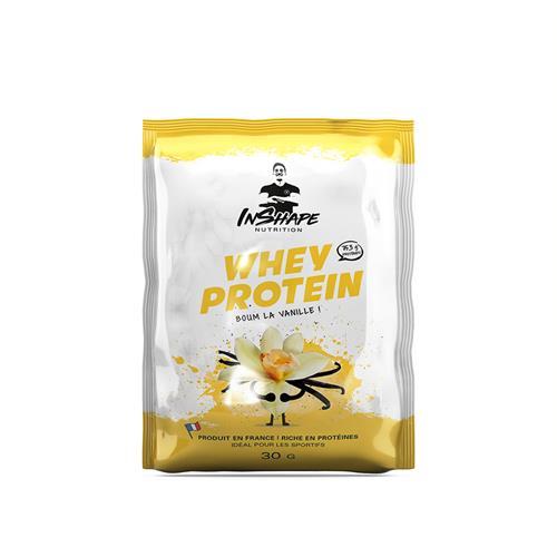 Whey Protéine InShape Nutrition Monodose de Whey Protein