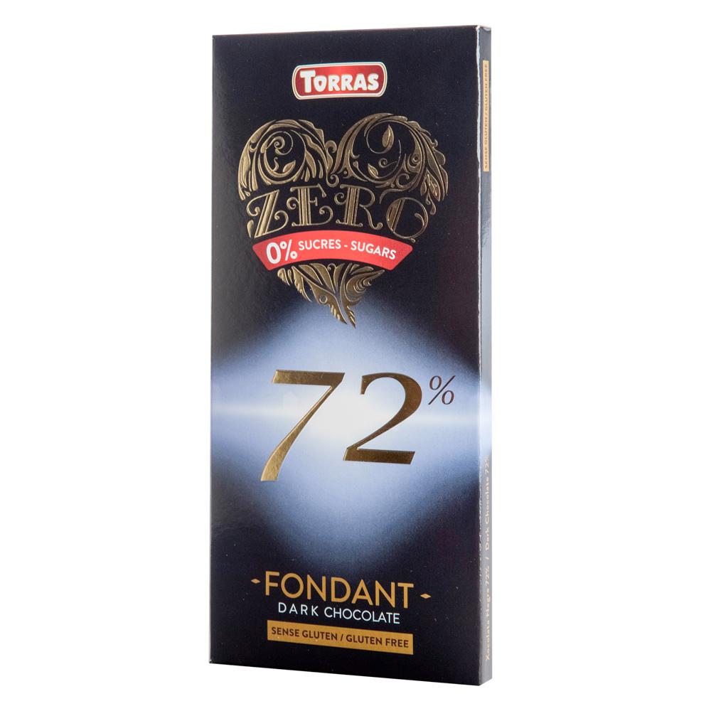 Torras Chocolat Noir 72 %