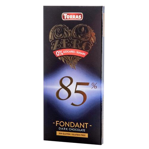Cuisine - Snacking Torras Chocolat Noir 85 %