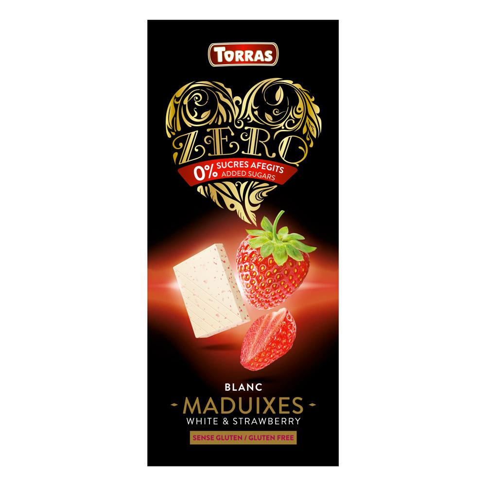 Torras Chocolat Blanc Fraises