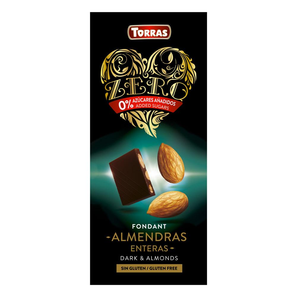 Torras Chocolat Noir Amande