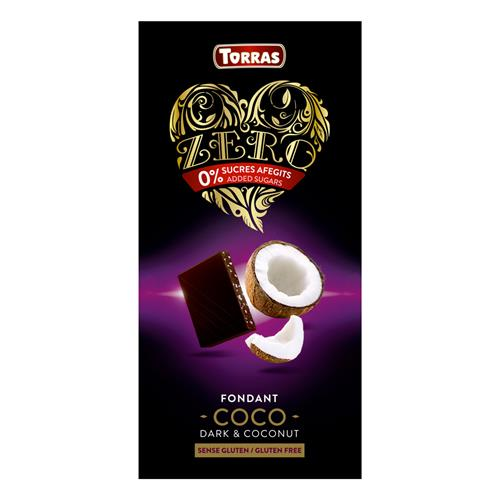 Cuisine - Snacking Torras Chocolat Noir Noix de Coco