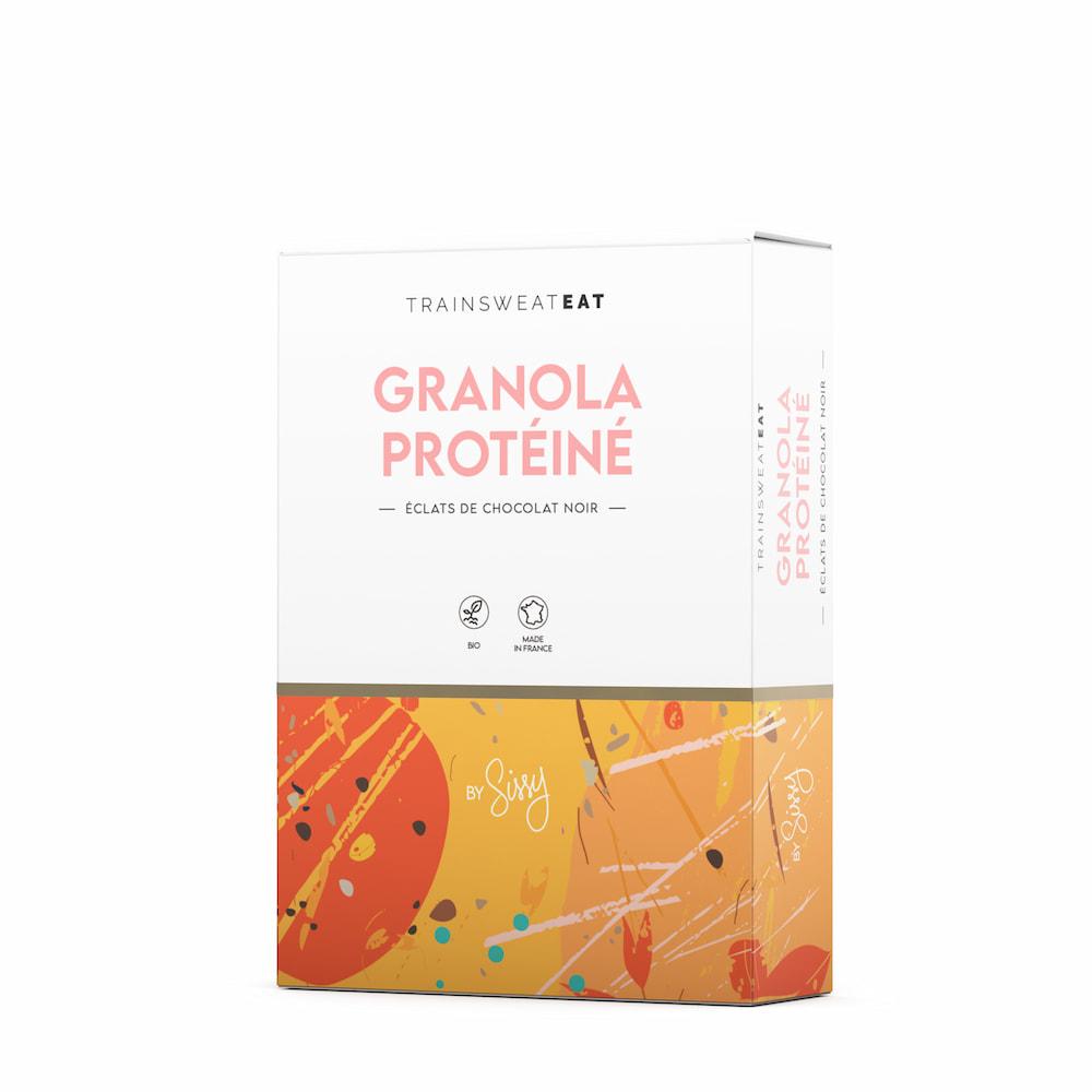 TrainSweatEat Granola protéiné bio