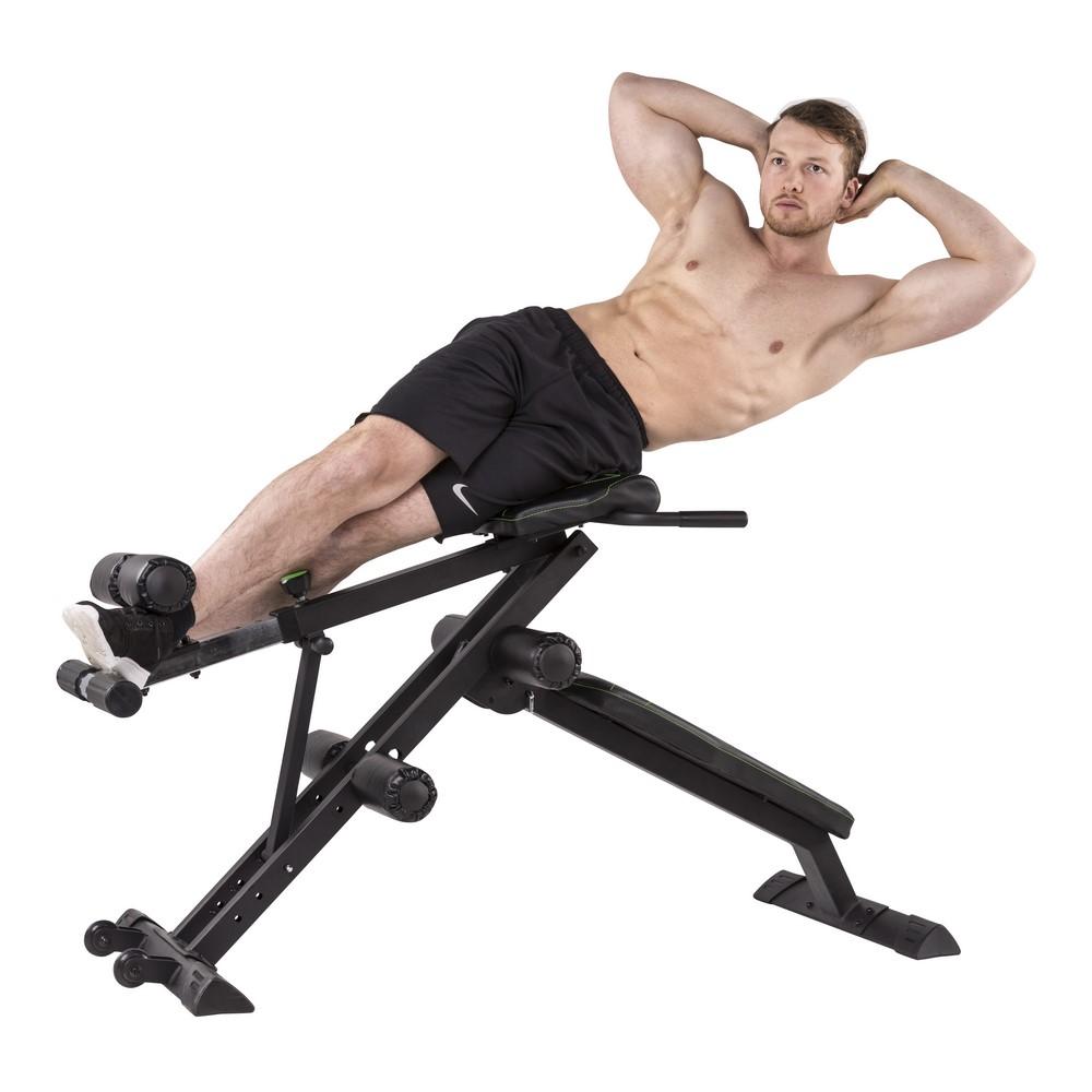 banc de musculation tunturi ct80 core trainer. Black Bedroom Furniture Sets. Home Design Ideas