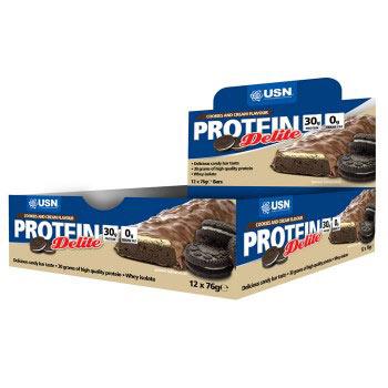 Barres protéinées USN Protein Delite Bar