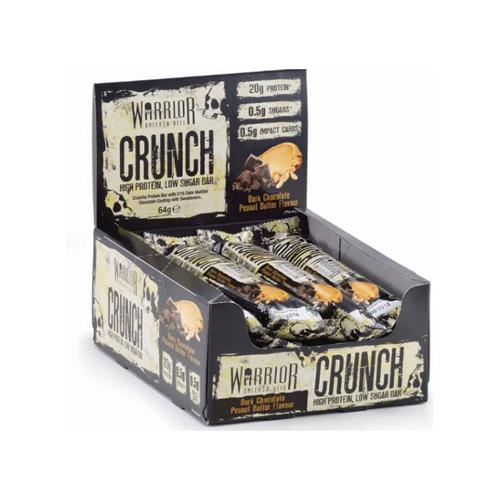 Barres protéinées Warrior Crunch High Protein Low Sugar Bar