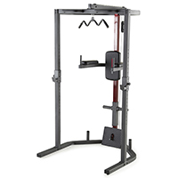 Smith Machine et Squat Weider Power Rack