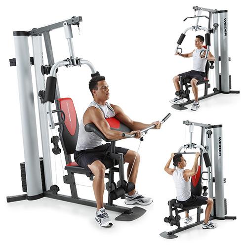 Presse à Charge Guidée Pro 8700 Weider Fitnessboutique