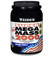 Prise de masse Weidernutrition Super Mega Mass 2000