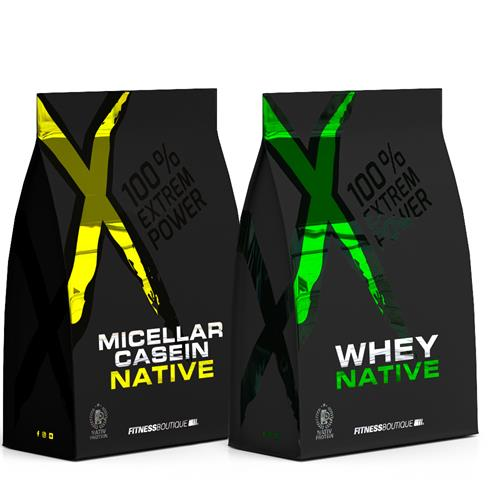 Whey protéine XNative Pack Protéine Jour Nuit