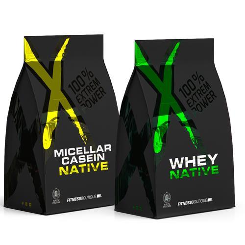 Whey Protéine XNative Pack Protéine XL Jour Nuit