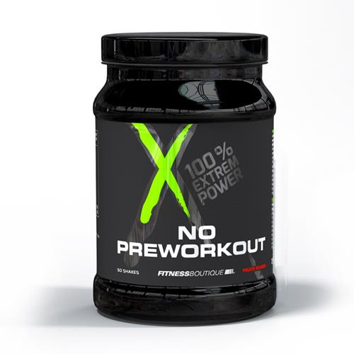 pre workout NO PreWorkOut / Pre Workout XNative - Fitnessboutique